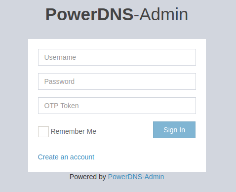 PowerDNS on Docker or Podman, easy to run 3