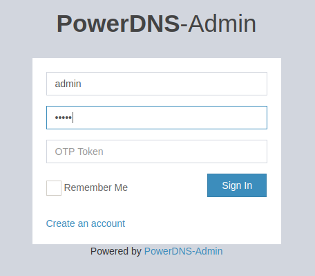 PowerDNS on Docker or Podman, easy to run 5