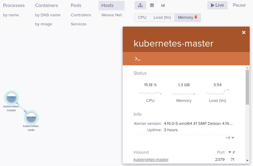 Dashboards de Kubernetes 2 6